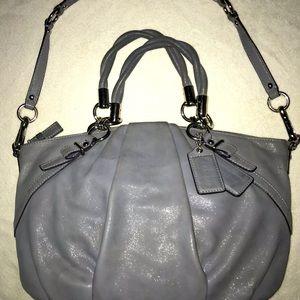 Coach Madison bag, pebble blue...EUC!